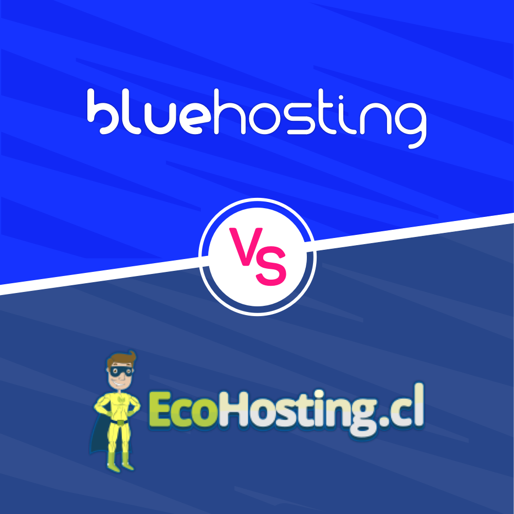 EcoHosting vs BlueHosting