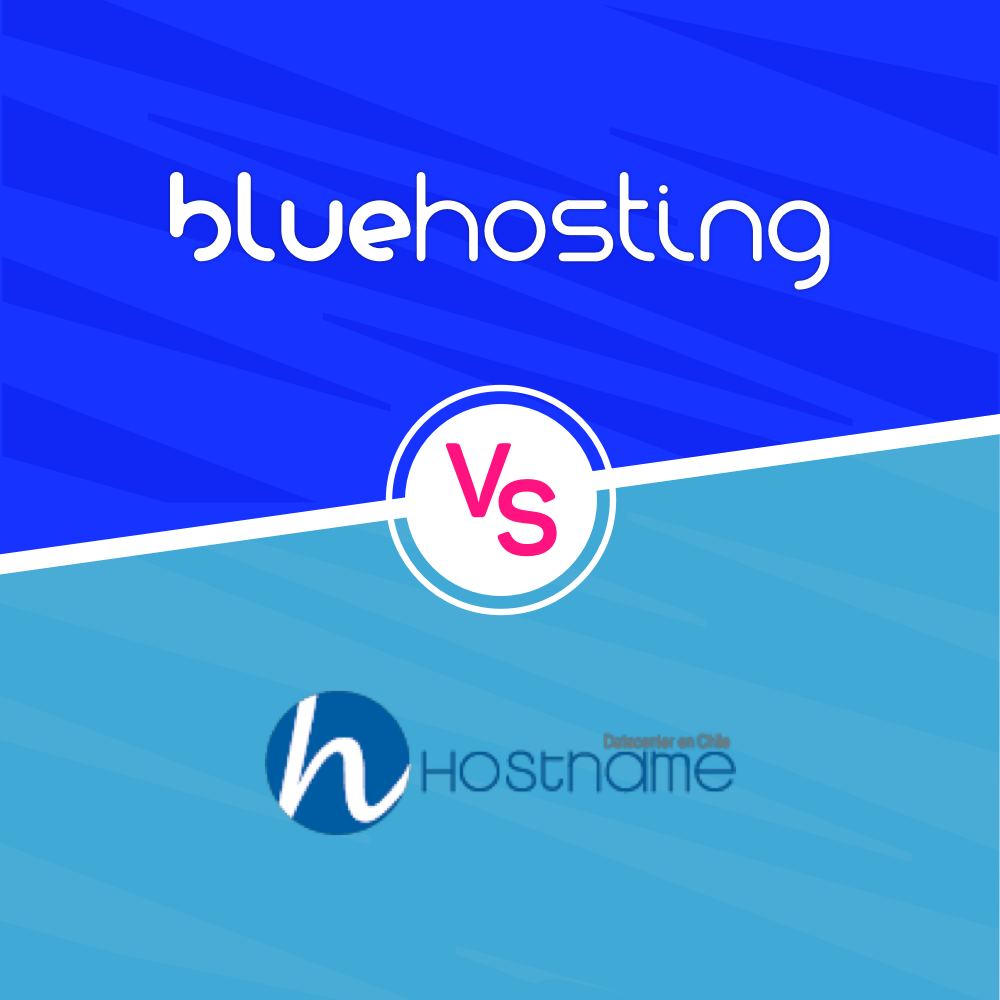 Hostname vs BlueHosting